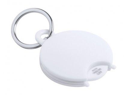 Antibakteriálny prívesok na kľúče , white