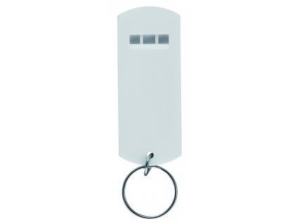 Kľúčenka - píšťalka , white