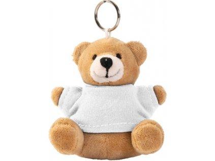Kľúčenka medvedík , white