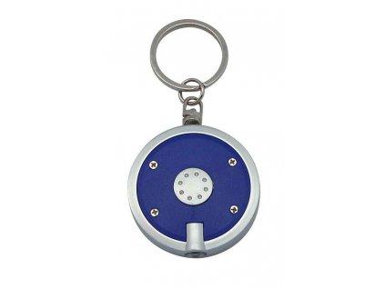 Kľúčenka s LED svetlom , Black