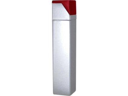 Kovový zapaľovač , MT Silver/MT red