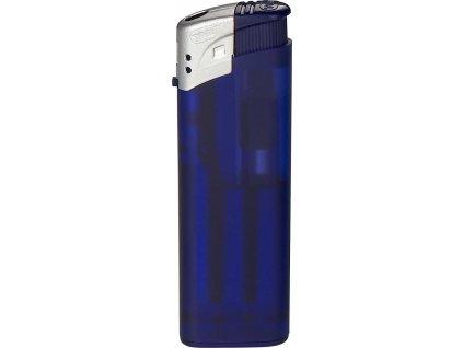 Piezoelektrický zapaľovač , Frozen dark Blue/MT Silver