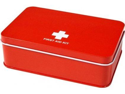 15 - dielna lekárnička v plechovej krabičke , Red