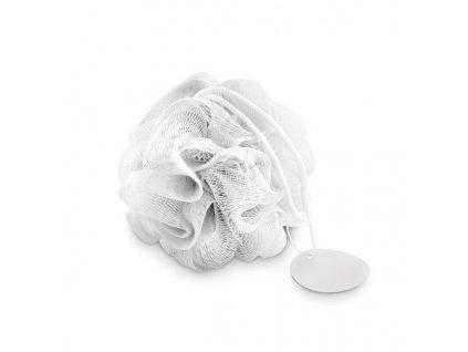 Čistiaca hubka na telo , white