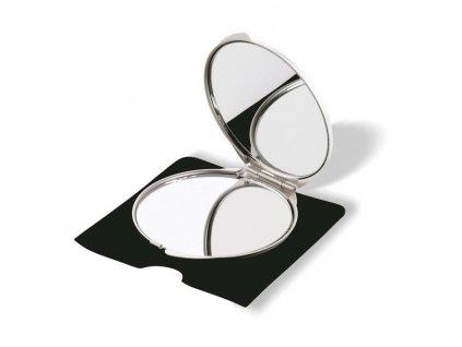 Kozmetické zrkadielka , Dull silver