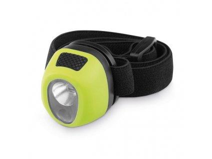 Vodotesná LED čelovka , light green