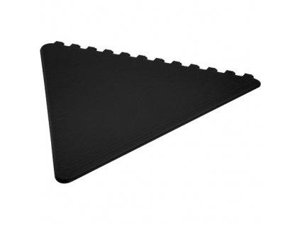 Trojuholníková škrabka na ľad , solid black