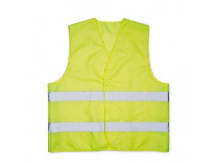 Bezpečnostná reflexná vesta , Yellow