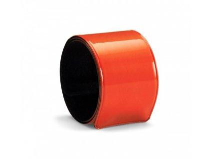 Reflexná páska na ruku (34x3 cm) , Orange