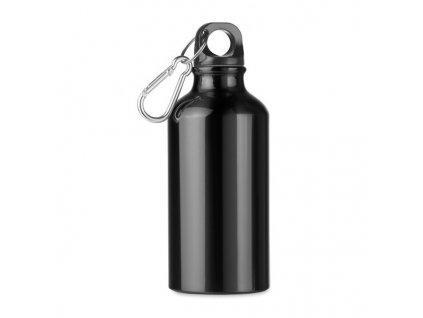 Hliníková fľaša (400 ml) , Black