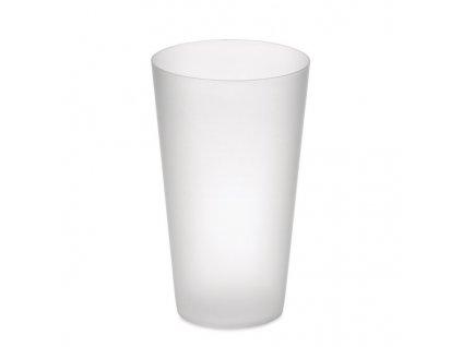 Plastový pohár (550 ml) , transparent white