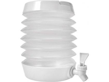 Skladací plastový dávkovač nápojov (3500 ml) , white