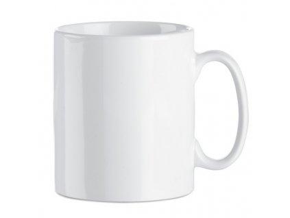 Keramický hrnček pre sublimáciu (300 ml) , white