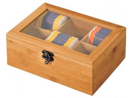 Škatuľka na čaj , wood