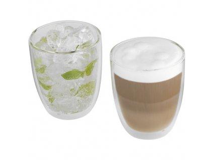 2-dielna kávová sada (300 ml) , Transparent clear