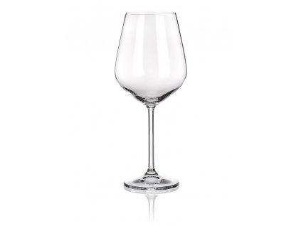 LAUREN 4-dielna sada pohárov na červené víno (680 ml) , transparent