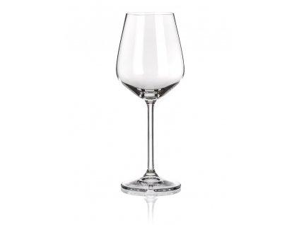 LAUREN 4-dielna sada pohárov na biele víno (450 ml) , transparent