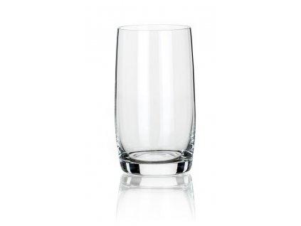LEONA sada 4 pohárov na long drink (380 ml) , transparent