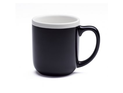 Dvojfarebný hrnček (300 ml) , Black