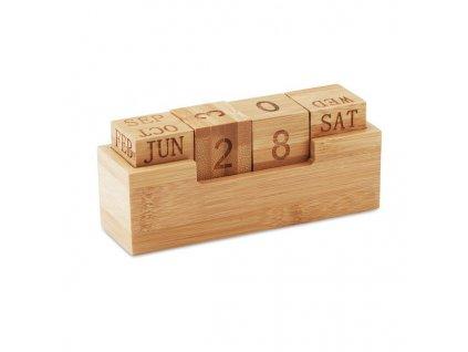 Bambusový kalendár , wood