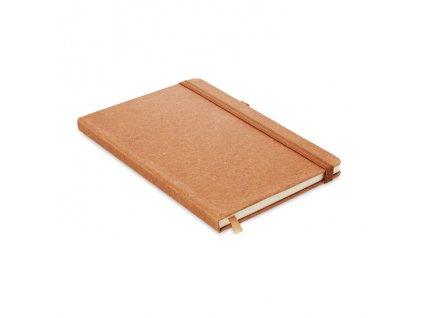 A5 linajkový zápisník , Brown