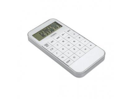 10-miestna kalkulačka , white