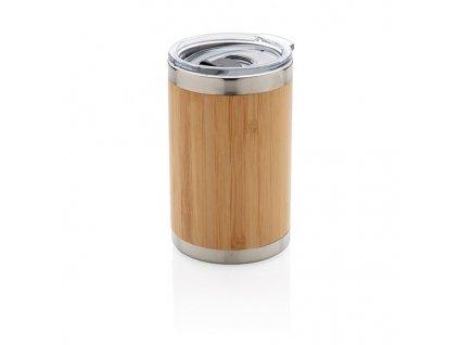 Bambusový termohrnček (270 ml) , Brown
