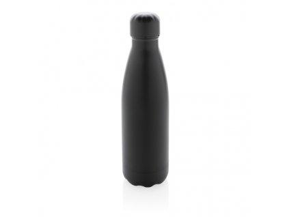 Celofarebná nerezová termo fľaša, 500ml , Black