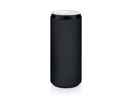 Flaša v tvare plechovky (330 ml) , Black