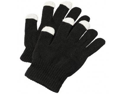 Dotykové rukavice Billy , solid black