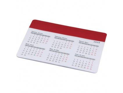 Podložka pod myš s kalendárom , Red