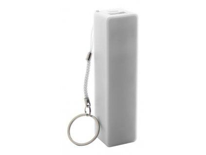 USB power banka, 1200 mAh , white