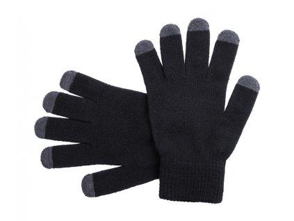 Dotykové rukavice , black/grey