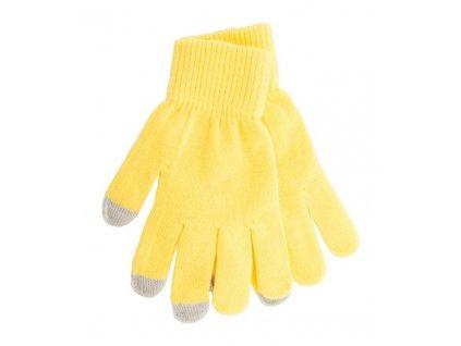 Dotykové rukavice na obrazovku , yellow/grey