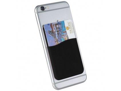 Puzdro na karty na mobil , solid black