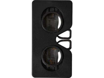 Sklápacie VR okuliare z plastu , Black