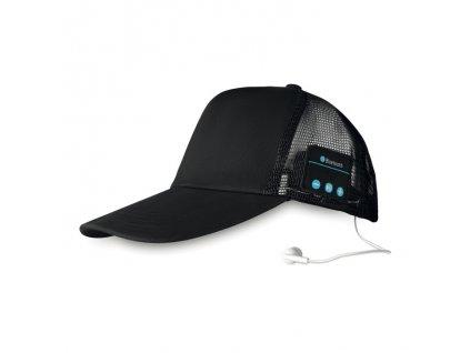 Bezdrôtové šiltovka so slúchadlami , Black