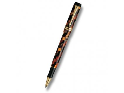 Parker•Duofold Check Amber, Roller , .