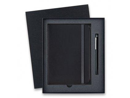 Guľôčkové pero LAMY cp1 black lacquer + zápisník , Black