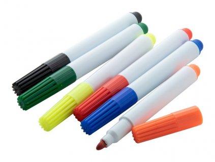 Permanentný keramický popisovač , multicolor