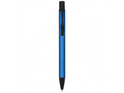 Guľôčkové pero, darčekovo balené (čierna náplň) , Blue