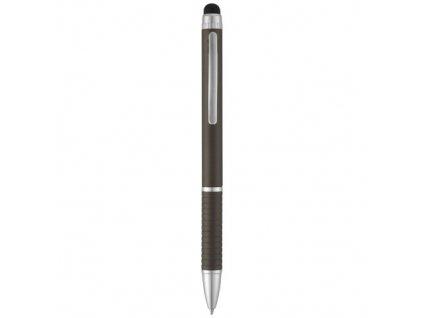 2-farebné pero a stylus (modrá náplň) , gun metal