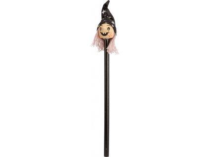 Drevená ceruzka čarodejnice , custom/multicolor
