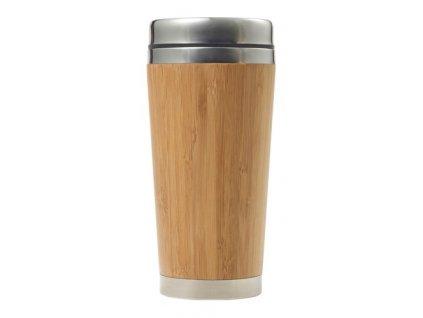 Bambusová termošálka (400 ml) , Brown