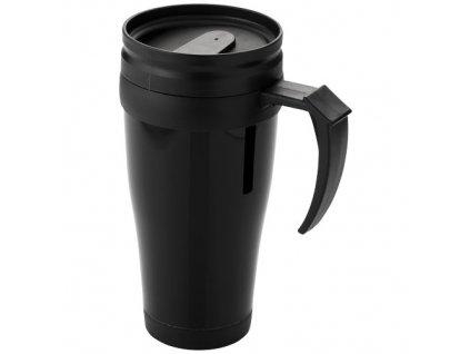 Termohrnček (400 ml) , solid black