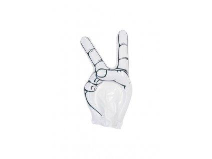 Fandiace ruka , white
