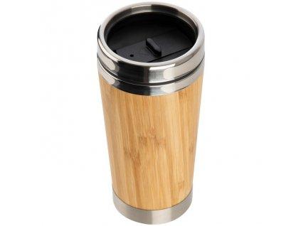 Bambusový termohrnček (400 ml) , Beige