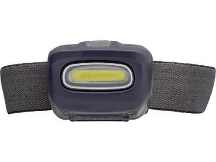 Čelovka s 8 výkonnými COB LED diódami , Black