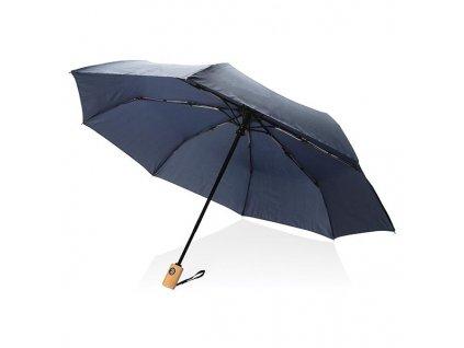 Automatický dáždnik z RPET, priemer 97 cm , navy blue