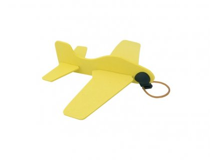 3D puzzle lietadlo , Yellow